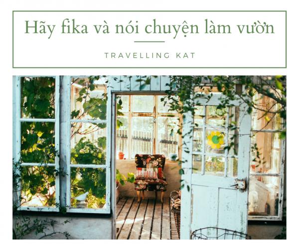 Tình yêu thiên nhiên của người Thụy Điển