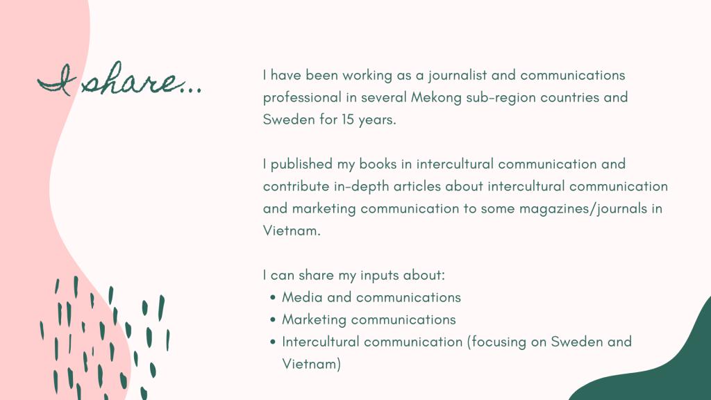 Chia sẻ kinh nghiệm làm truyền thông