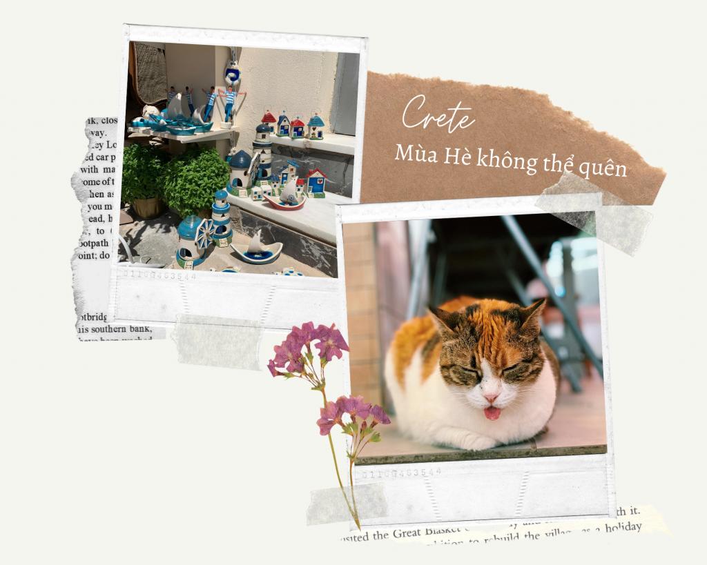 Travelling Kat - Crete Hy Lạp mùa Hè không thể quên